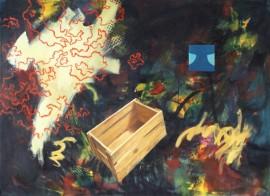 """""""Dante"""", 1993, olje på lerret, 130 x 180 cm"""
