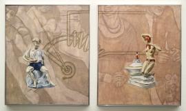 """""""Electric"""", 1997, olje på lerret, 2 (120 x 100 cm)"""