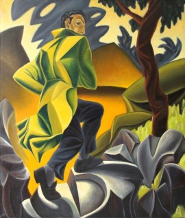 """Passet"", 1993, olje på lerret, 150 x 130 cm"