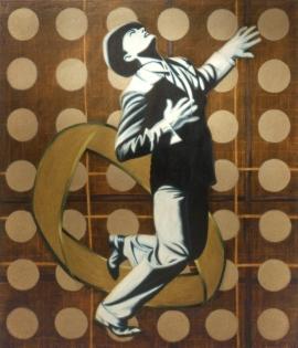 """""""Reminiscence"""", 1997, olje på lerret, 140 x 120 cm"""