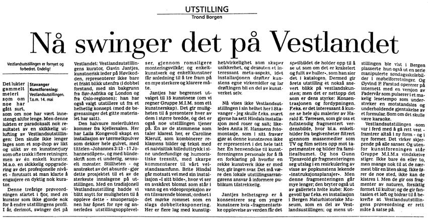 Trond Borgen 2000