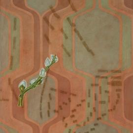 """""""Variasjoner—drabant"""", olje på lerret, 120 x 100 cm, 2010"""