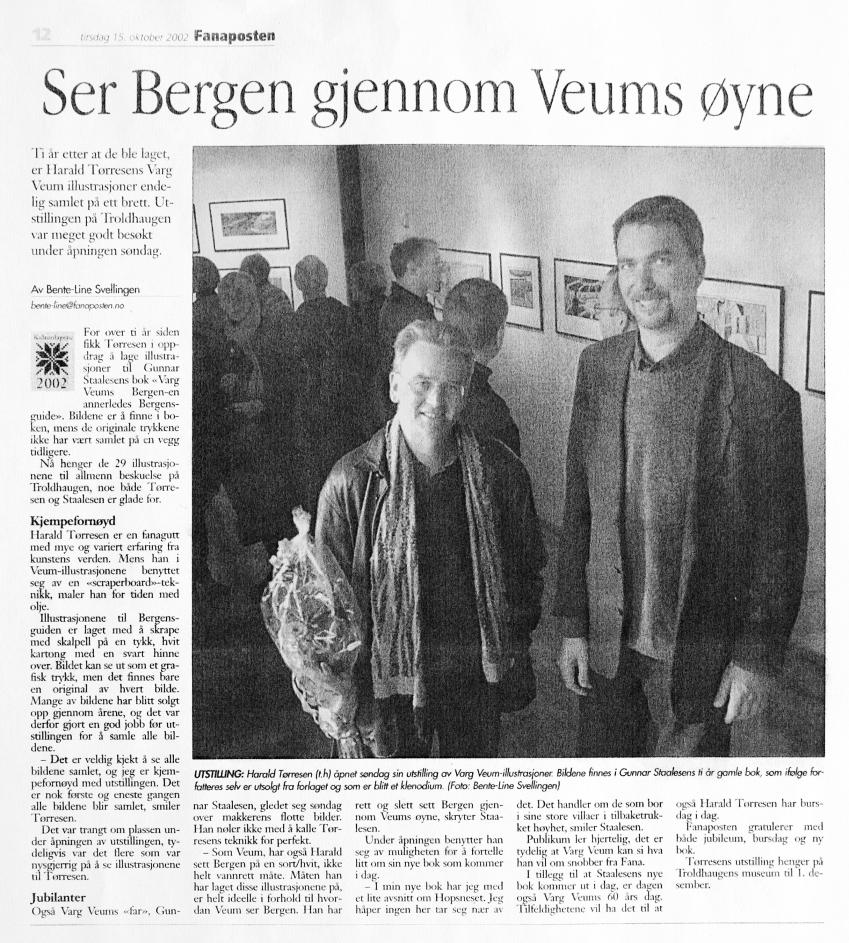 Ser Bergen gjennom Veums øyne
