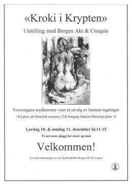 Bergen Akt og Croquis